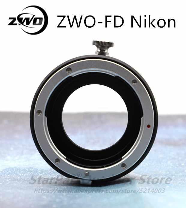 ZWO-FD Nikon интегрированный ящик для фильтра для подключения Nikon f-крепление объектива и Аси камера ZWO FD Nikon