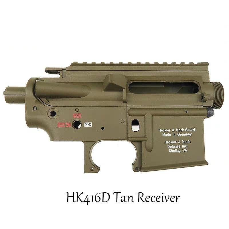 LDT HK416 2.5 Generation Tan Color Premium Version Water Bomb Kit Explosive Change Exciting Accessories Sand Color HK416D