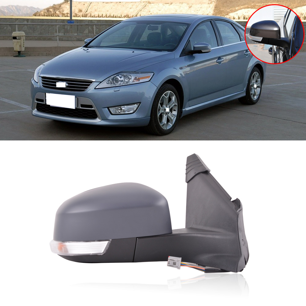 1Pcs Left Driver Wing Mirror Light For Ford Mondeo 2011-2012