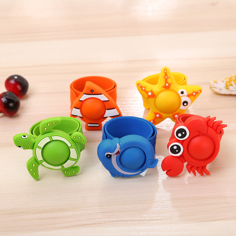 Children Anti Mosquito Bracelet Silicone Plant Essential Oil Lovely Cartoon Animals Reusable Kid Anti-mosquito Hand Ring AN88