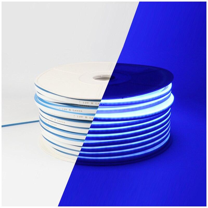H0c270784349d49d88b00f04ae861b0d36 - DC 12V RGB LED Strip Light Neon Light Waterproof SMD 2835 Flexible Ribbon Fita Strip Lamp 1/2/3/4/5 Meter Tape Home Decoration