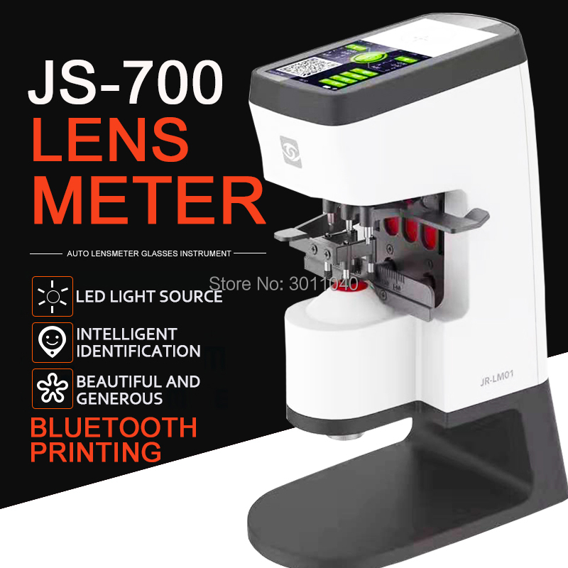 Aletler'ten Fukometreler'de Oto lensmetre Lens dijital JR LM001High precision göz dükkanı ekipmanları optik aletler ve ekipmanları üstün kalite title=