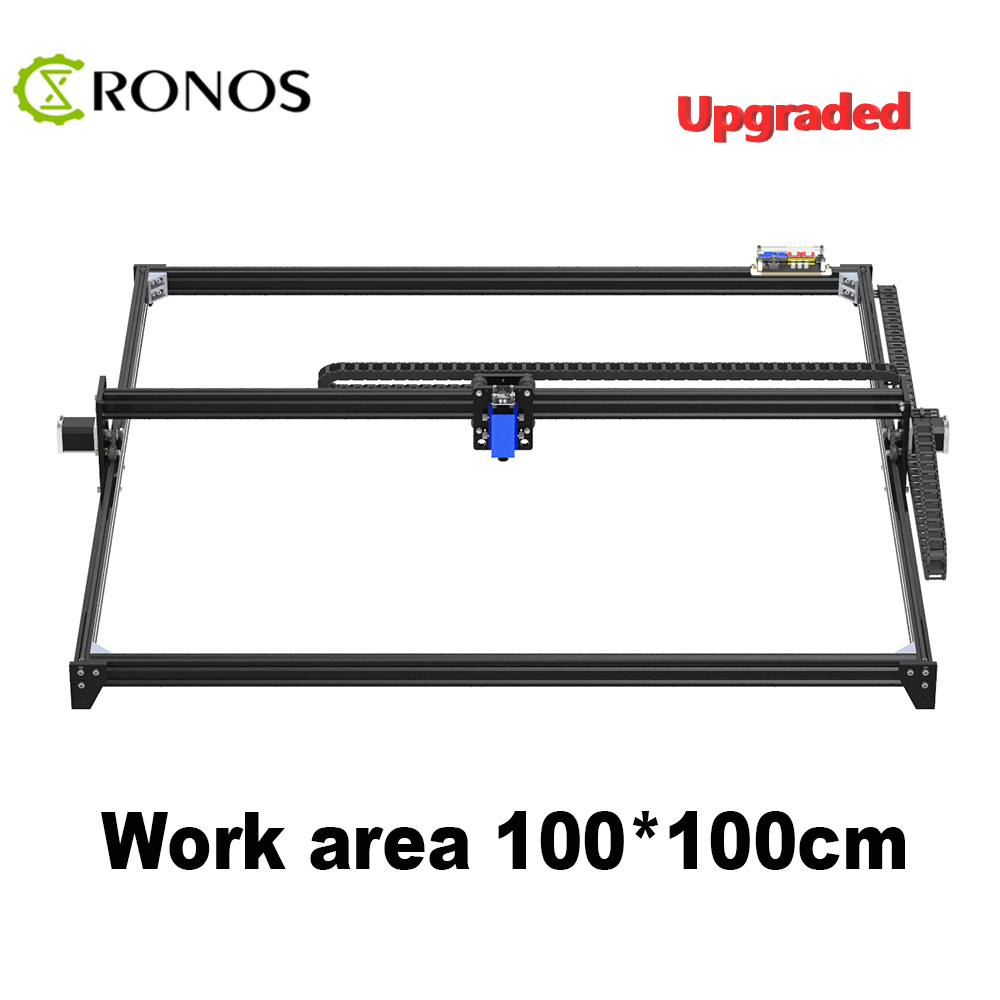 Working Area 100cm*100cm,2500mw/5500mw/15W Laser CNC Machine,Desktop DIY Violet Laser Engraving Machine Picture CNC Printer