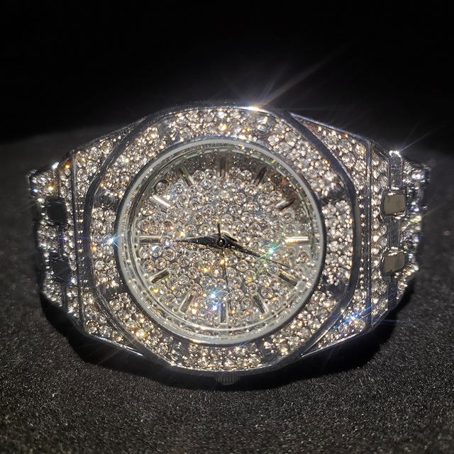 MISSFOX Silver Women's Watch Casual Dress Ladies Watch Fashion Waterproof Steel Quartz Wrist Watches For Women Valentines Gift 1