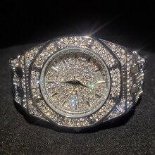 MISSFOX Reloj de plata para mujer, reloj femenino informal, de acero impermeable, de pulsera de cuarzo, regalo de San Valentín