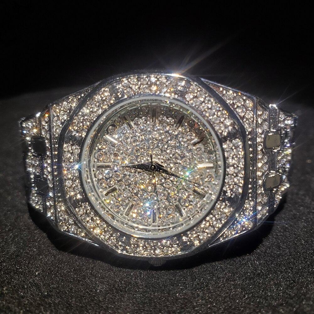 MISSFOX prata relógio feminino casual vestido senhoras relógio de moda à prova dwaterproof água aço quartzo relógios de pulso para feminino presente dos namorados