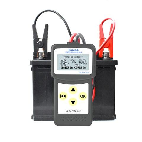 Lancol Micro200 Diagnostics ToolsCar Automotive Battery Tools Auto Factory For Cars  CCA100-2000 Battery Tester Car Tester Tools Pakistan