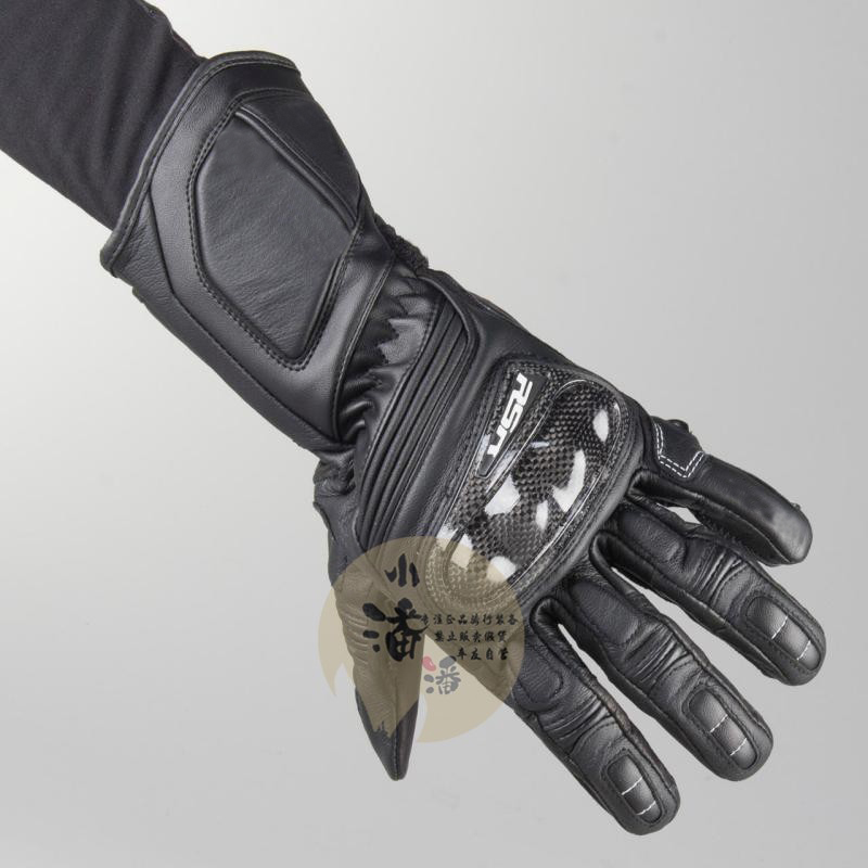 Motorcycle Racing RSR 3 Black Moto Motorbike Motorcycle Touring Leather Gloves   All Sizes