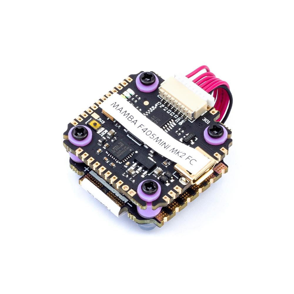 20x20mm <font><b>Diatone</b></font> <font><b>MAMBA</b></font> <font><b>F405</b></font> <font><b>Mini</b></font> MK2 F30MINI 30A 3-5S Flight Controller ESC Stack for RC FPV Racing Freestyle 3-5inch 4S 5S Drone image