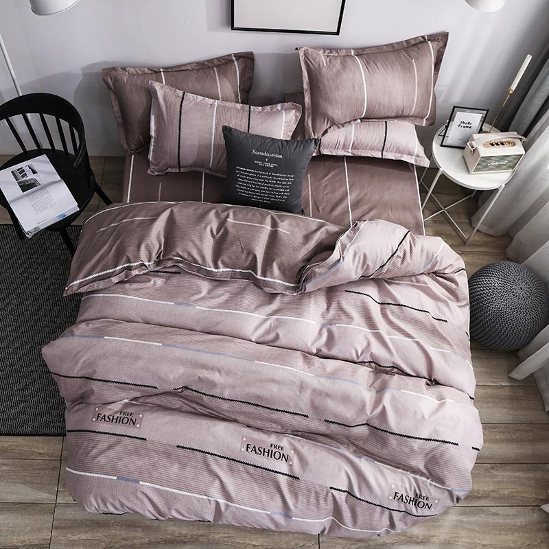 50   Bedding Set Unicorn Bed Linen Duvet Cover Flat Sheet Pillowcase Sets Queen King Twin Full Size