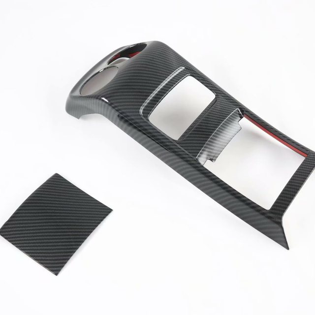 For Mercedes-Benz GLA-Class GLA200 220 250 2020 2021 Rear Armrest Air Outlet Panel Cover Trim Car Interior Accessories 2