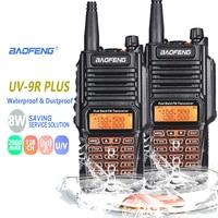 baofeng uv 2pcs חדש 100% המקורי Baofeng UV-9R פלוס IP67 WaterproofRadio מכשיר הקשר 8W UHF & VHF 128CH 2800mAh מכשיר הקשר תחנת רדיו (1)