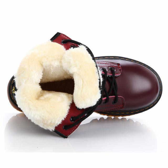 SAGACE Größe 35-40 Chunky Motorrad Stiefel Für Frauen Herbst 2019 3 farben Schnee Warme Kampf Stiefel Damen Schuhe