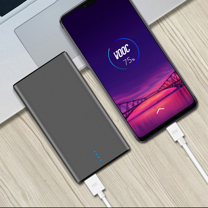 <font><b>10000mah</b></font> Power Bank 5V 4A Vooc Dash Charger External Battery for Oneplus 7T Pro 5T 6T Oppo Find X R17 R15 Fast Charge <font><b>Powerbank</b></font> image