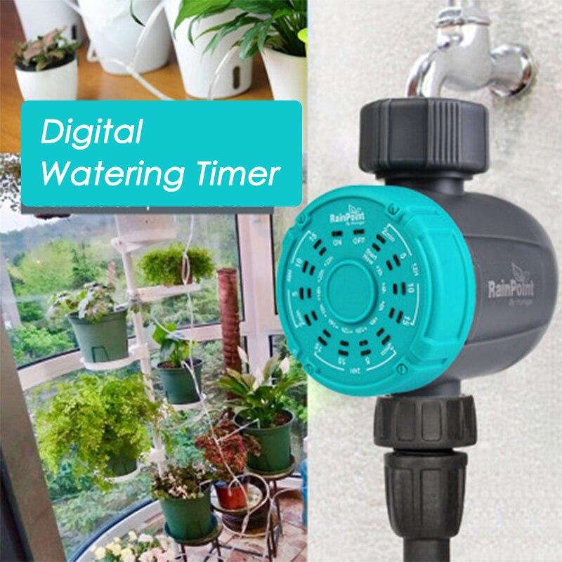 UNS/UK Garten Automatische Digitale Bewässerung Timer Elektronische Wasser Timer Garten Wasserhahn Timer Garten Bewässerung Werkzeuge Timer