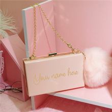 Monogram Purse Handbag Bride-Box Custom Personalized
