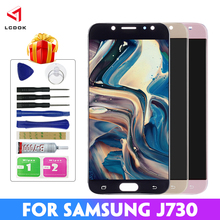 Adjustable Brightness LCD For Samsung Galaxy J7 2017 Pro J730 J730F Display Touch Screen Replacement Digitizer Assembly