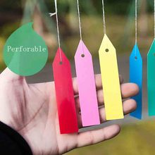 Seed-Labels Pot-Marker Stake-Tags Garden-Supplies Plant-Name Flower PVC 10x2cm Nursery