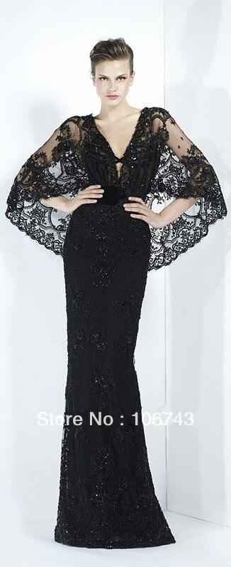 Cap Sleeve Promotion Beyonce Vestido De Festa Beaded Party Elegant Long Lace Evening Gown Celebrity Mother Of The Bride Dresses