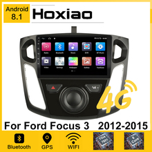 2Din 9 Zoll Auto Android 8,1 GPS Navigation Player für Ford Focus 3 Mk 3 2011 2012 2013 2015 2014 Auto Multimedia Radio 4G Video