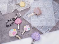 Molde de silicona para llave de bricolaje, moldes de fundición de resina epoxi UV para resina, molde de fundición para joyas, Carfts de resina
