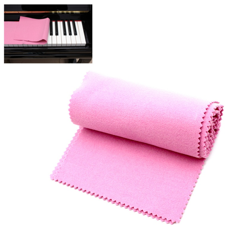 Piano Cover Red Soft Nylon+Cotton Piano Keyboard Dust Cover For Any 88 Key Piano Or Keyboard
