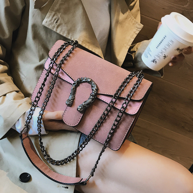 Female Crossbody Bags For Women High Quality PU Leather Famous Chic Luxury Handbag Designer Sac A Main Ladies Shoulder Bag