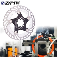 ZTTO bicicleta de refrigeración de los frenos de disco flotante de hielo del Rotor MTB Carretera de grava bicicleta 203mm 180mm 160mm 140 enfriar disipador de calor RT99 RT86