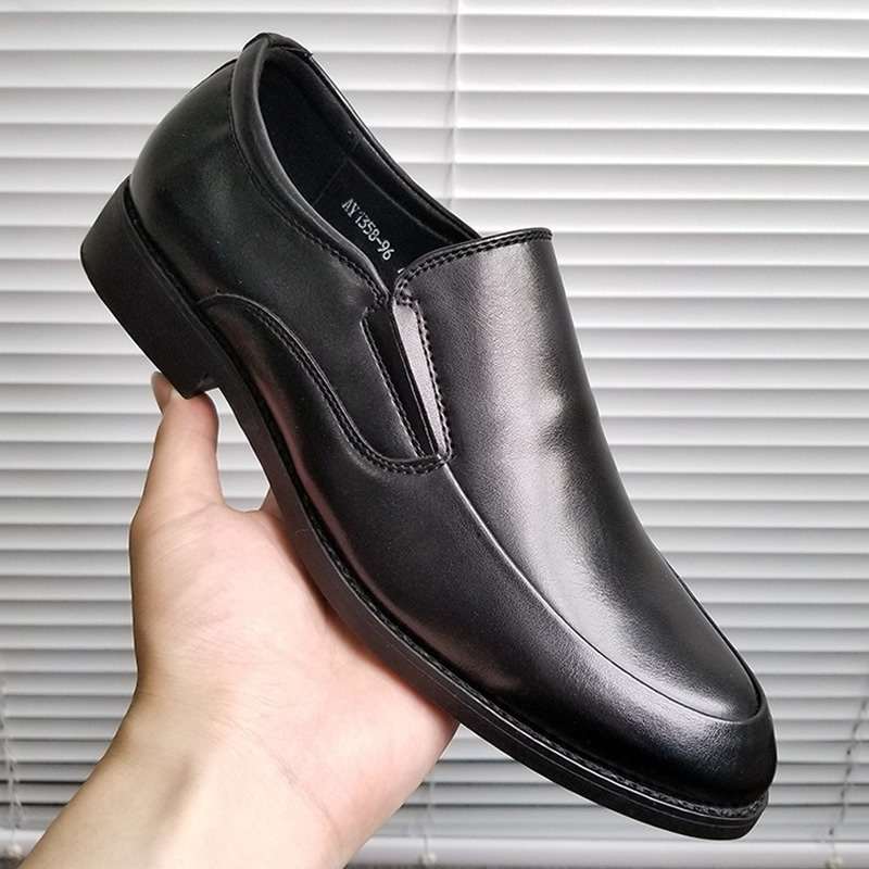 2020 Formal Shoes Men Business Men Dress Shoes Leather Men Oxford Shoes Fashion Footwear