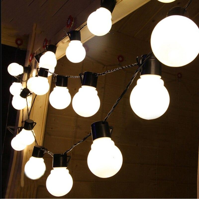 Hezbjiti Guirnalda Luces Exterior con Enchufe 120m//393ft 1000 Led Luces de Hadas Blanco C/álido para Interior Fiestas Boda Balc/ón Casa Arbol de Navidad Jard/ín