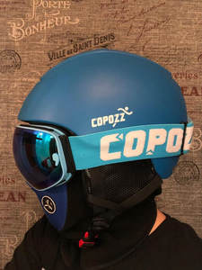COPOZZ Snowboard Helmet Skating Integrally-Molded Skiing Men Women