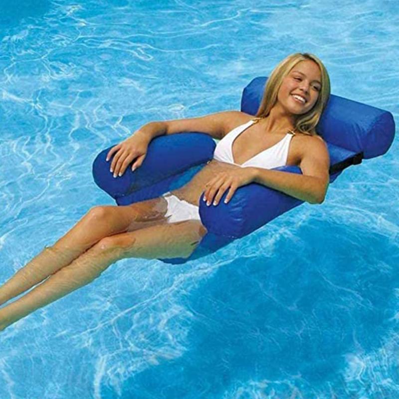 Venda quente inflável dobrável flutuante linha verão
