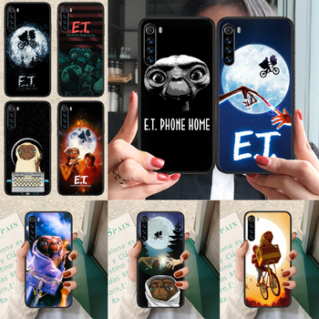 E.T. The Extra-Terrestrial Phone case For Xiaomi Redmi Note 7 8 8T 9 9S 4X 7 7A 9A K30 Pro Ultra black back luxury bumper image