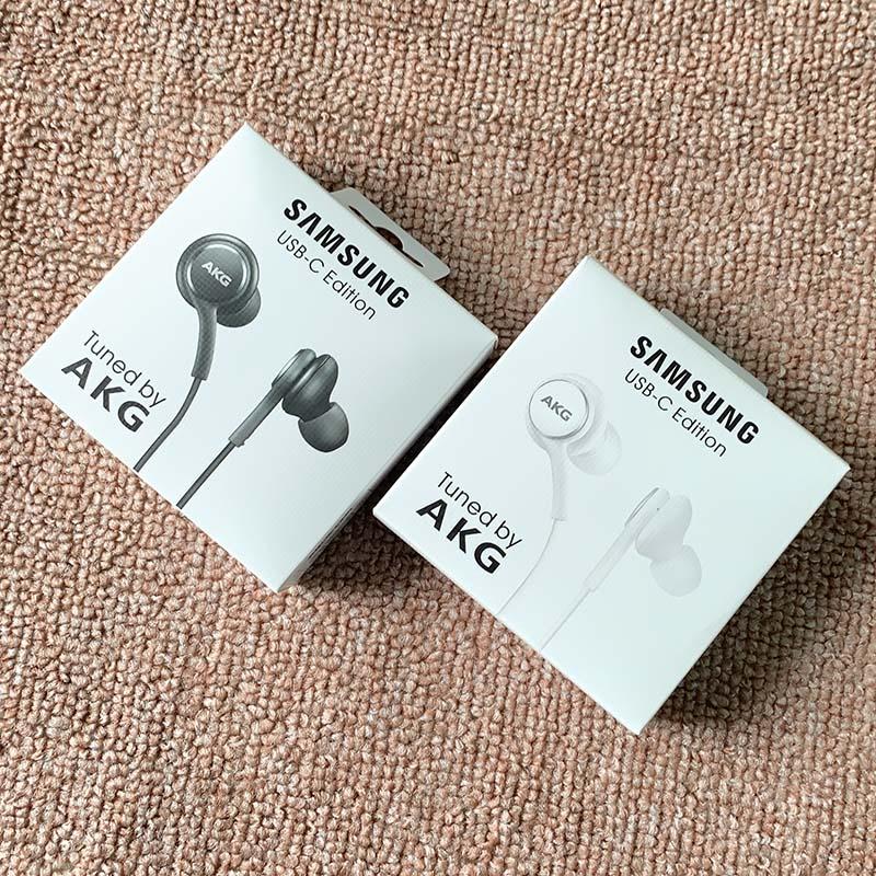 Original Samsung AKG DAC USB TYPE C Earphone Digital HIFI Earbuds With Mic/Remote Control For Galaxy Note 10 Pro A8S A60 A80 A90|Phone Earphones & Headphones| - AliExpress