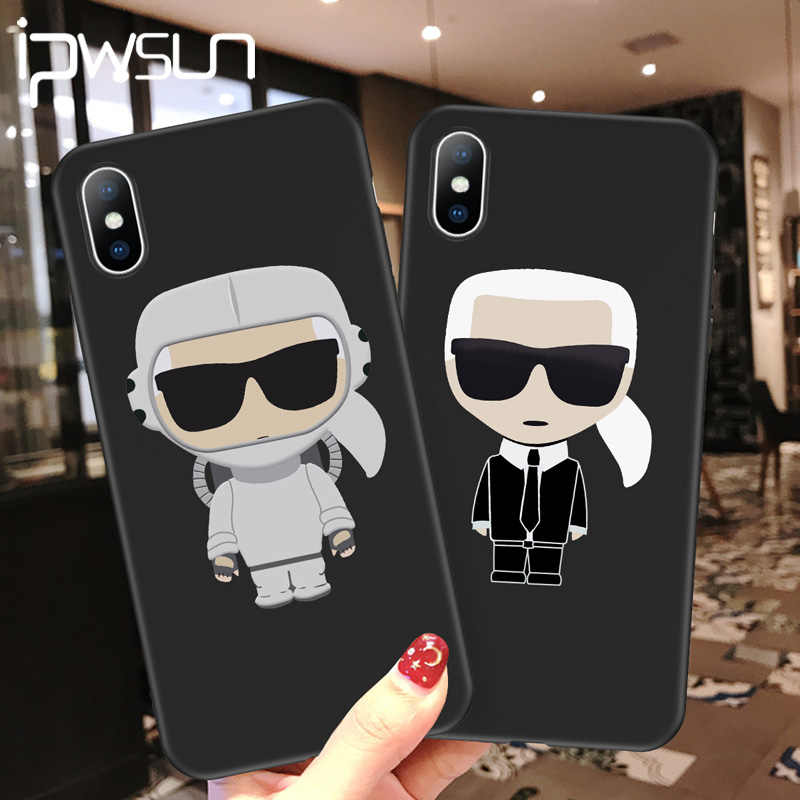 Ipwsoo Cartoon Brief Siliconen Telefoon Case Voor Iphone 11 Pro Max Xr Xs X Knockproof Voor Iphone 7 8 6 6 S Plus Soft Tpu Cover Coque