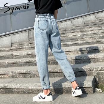 high waist jeans woman plus  3