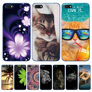 For Huawei Honor 7S Case Honor 7S Cover TPU Soft Silicone Phone Case For Huawei Honor 7S 7 S Honor7S 5.45