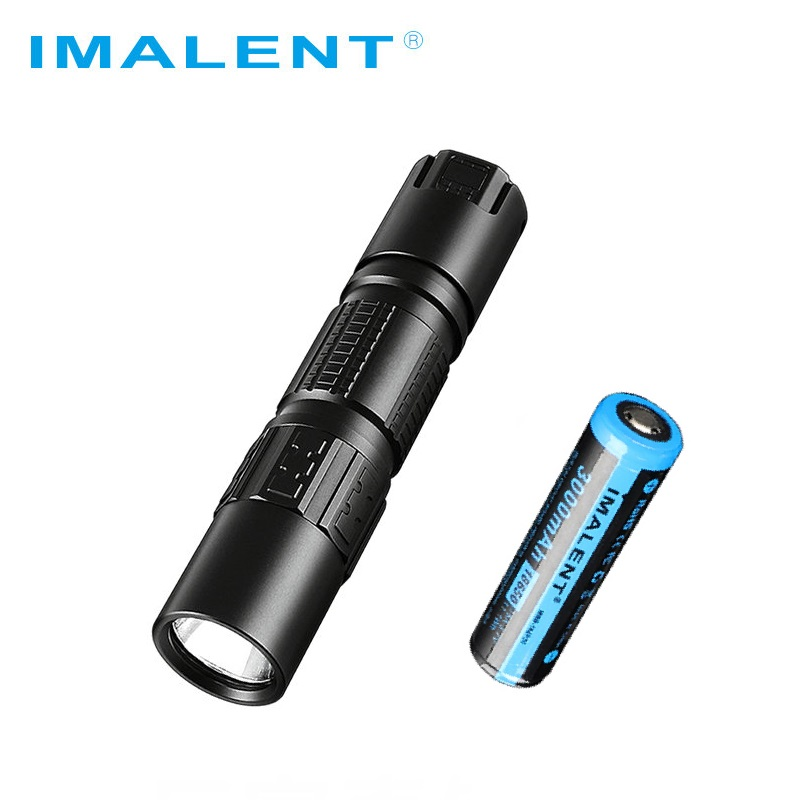 IMALENT DM21C Led Flashlight Cree XHP35 HI OLED Display 2000LM Mini Rechargeable Flashlight with Magetic USB +18650 Battery
