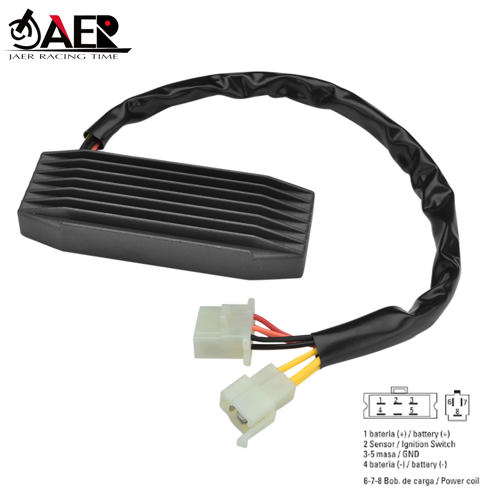 JAER Motorcycle Voltage Regulator Rectifier for <font><b>Suzuki</b></font> <font><b>VS1400</b></font> VS1400GLP Intruder <font><b>VS1400</b></font> VS1400GLP Boulevard S831987-1995 image