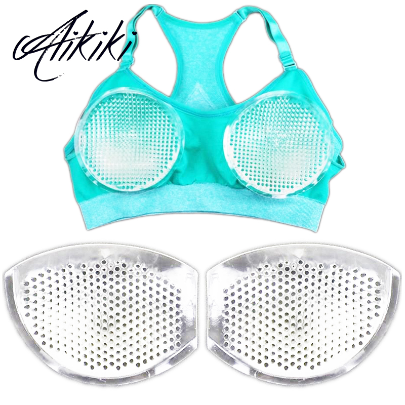 Women's Breast Push Up Bra Pads Removeable Enhancer Bra Pads Swimsuit Bikini Nipple Cover Stickers Patch Inserts Silicone Bra