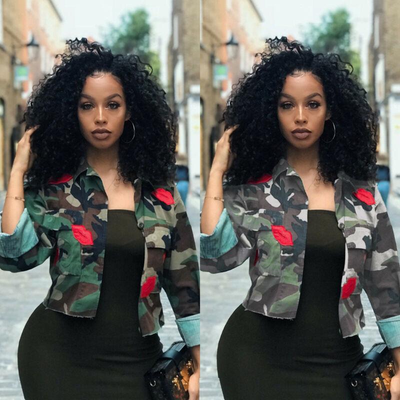 Autumn Jackets Women New Denim Jacket Female Camouflage Fall For Coat Bomber Camo Plus Size
