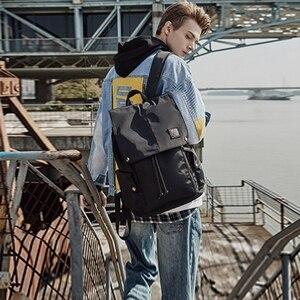 Image 3 - MOYYI en İyi kalite su geçirmez büyük sırt çantası erkekler fonksiyonel 14 15.6 Laptop sırt çantası erkek açık seyahat Mochilas moda çanta