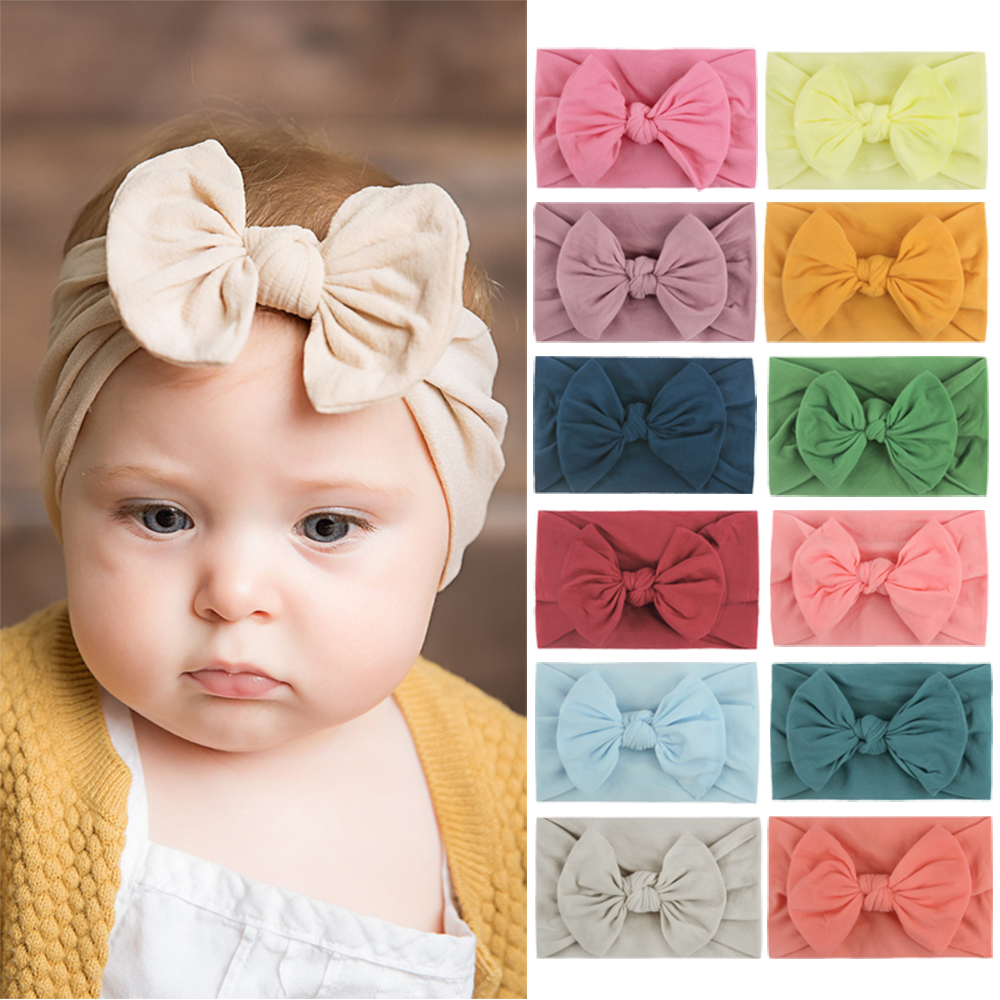 Baby Headband Turban Knotted Baby Girl Hair Accessories For Newborn Toddler Children Baby Turban Hair Accessories Dropshipping