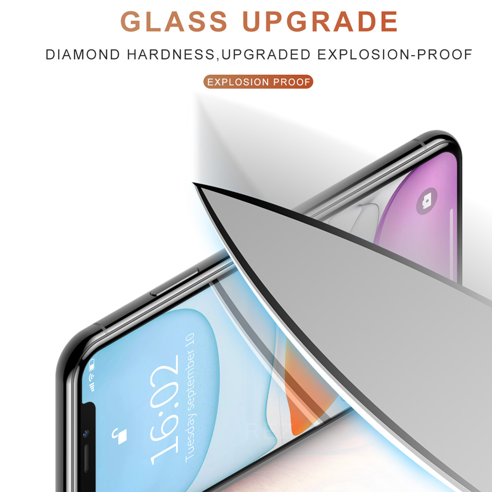 Image 2 - AFY 2pcs/lot Tempered Glass for iPhone 11 Pro Glass Film for iPhone 11 Pro MAX XR 9D Full Cover for iPhone XS MAX Glass for XR-in Phone Screen Protectors from Cellphones & Telecommunications