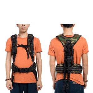 Image 3 - Appareil photo DSLR utilitaire ceinture technique harnais Kit photographie suspendus lentille pochette étui multifonctionnel fixe sac à dos sangle