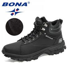 Bona 2020 Новые дизайнеры нубук спортивные тактические ботинки