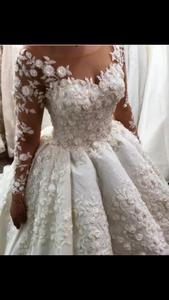 Image 2 - Eslieb  Ball gown new design lace wedding dresses 2020