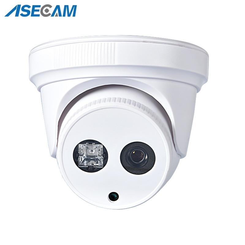 Caméra de Surveillance dôme intérieure IP PoE PoE 5MP, Onvif H.265, blanc, détection de mouvement P2P, alarme par e-mail, 3MP 1