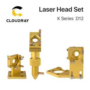 Image 2 - Cloudray K 시리즈 CO2 레이저 헤드 세트 D12 18 20 렌즈 2030 4060 K40 레이저 조각 기계
