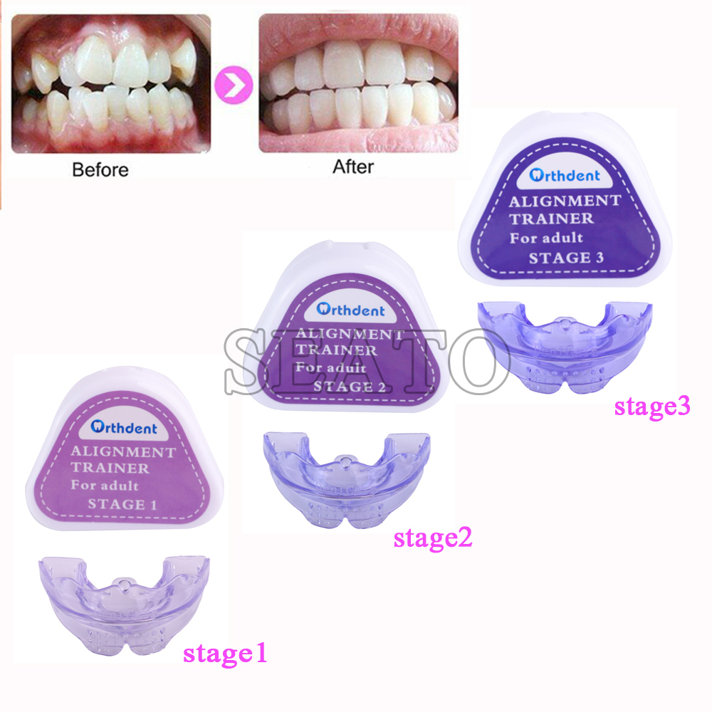 New Design Teeth Trainer Braces Dental Orthodontic Retainer Appliance Mouthpieces For Dental Care And Teeth Whiten Tooth Tray